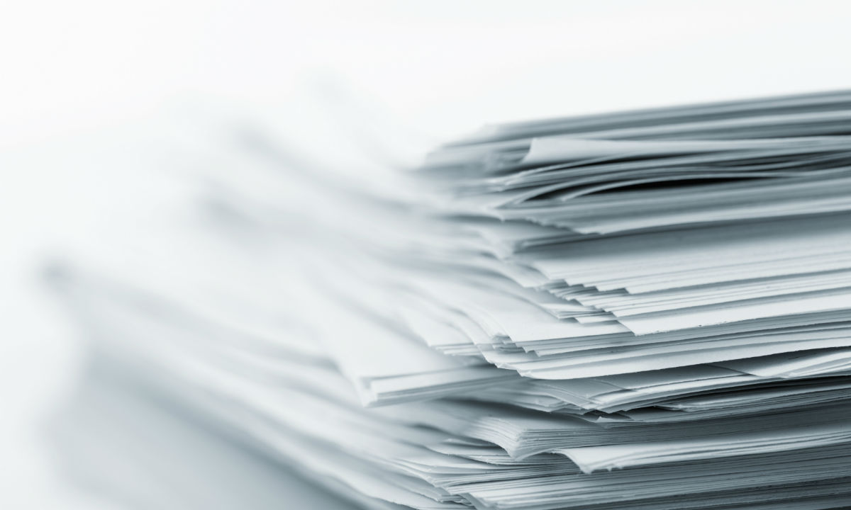 Stack Of Document